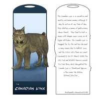 Canadian Lynx Bookmark redone by DawnFrost