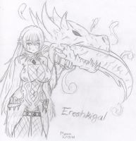 Ereshkigal by Icyshadowlord