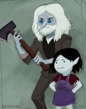 Simon and Marcy by Campside