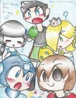 Super Smash Bros for WiiU and 3ds by mimirao