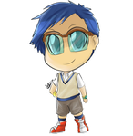 Chibi Edition digimon joe by Marini4