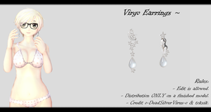[MMD] Virgo Earrings DL ~ by o-DSV-o