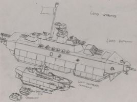 Land Warships by Imperator-Zor