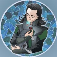 Fenrir Wolf - Loki's child by theperfectbromance