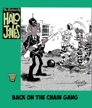 Halo Jones Book 4: Back On the Chain Gang by Tulio-Vilela