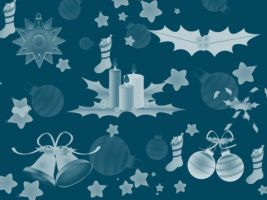 Christmas Decorations Free Brushes by xara24