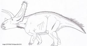 Titanoceratops ouranos by Miyess