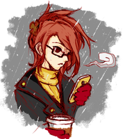 Coffee Break Colored by AidennLie
