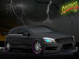 Mercedes Benz Classe  A TUNING Vt by CHARLESOUNDcar