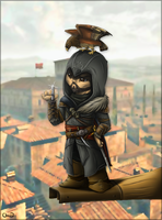 Chibbi Ezio by chezzepticon
