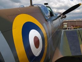 Spitfire Detail 2 by davepphotographer