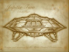 Steampunk Jupiter Two by MJBivouac