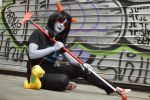 1NT1M1D4T1NG S1L3NC3 - Terezi Pyrope cosplay by Voldiesama