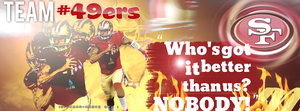 SF 49ers   ! by AmberlyAmorex