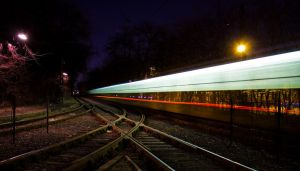 Hatar Ut - Tram Lights by FlawlessMonkey