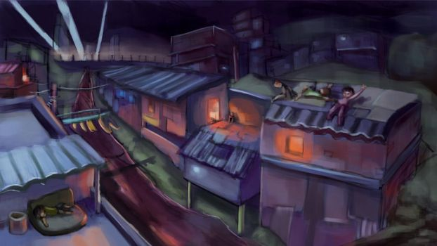 Slums (for a lack of interesting title) by waltervan00