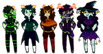 fantroll adoptables -HALLOWEEN SPECIAL/CLOSED- by Calallini