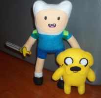 Finn and Jake - Adventure Time by TashaAkaTachi
