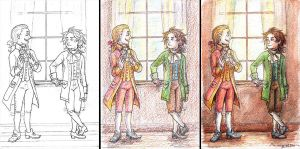 Mozart and Beethoven Progression by Demona-Silverwing