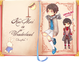 [ PROJECT WONDERLAND ] Kou Mori by akiicchi