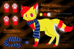 Toleco Reference Sheet (MegaLoler) 2013 by Renapop