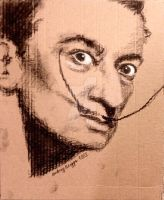 Salvador Dali by audleycreative