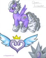 Pony OC: Queen Lavender by KSapphire8989
