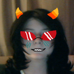 Terezi wig -not styled- by starclanwarrior0909