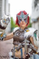 Woad Scout Quinn: We're in this together by MowkyCosplay