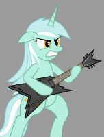 Lyra's New Strings by FriendshipIsMetal777
