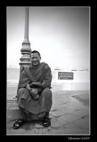 The Smiling Monk by Nikoneyes
