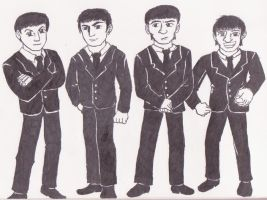 The Beatles by Jetultra