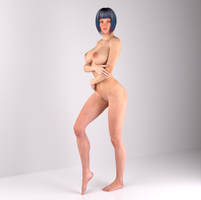 RS-232 - Pose #1 by 3DMilieu