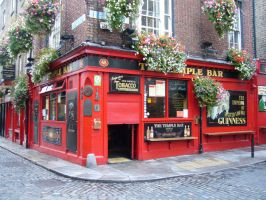 The Temple Bar, Dublin by abvt