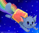 Nyan Cat by Co0kie-Cat