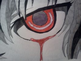 Mirai Nikki Eye - Close Up by Cam-san