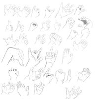 Hand Sketchs by Nohealsfoyou