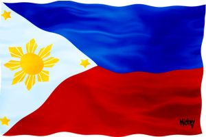 Philippine flag by neocatastrophic