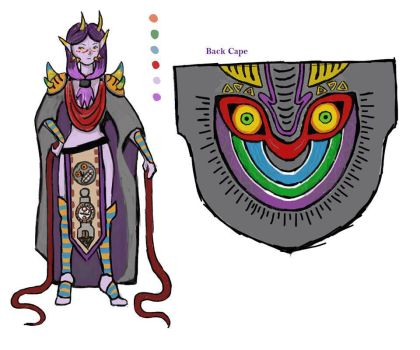 Majora costume design by Chochomaru