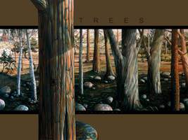 Trees by arterie