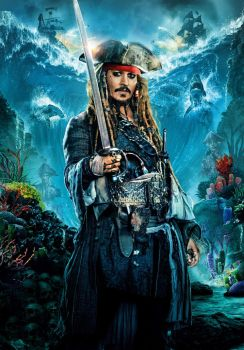 Pirates Of The Caribbean 5 Poster: Jack Sparrow by TheNoblePirate