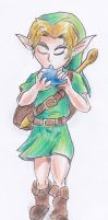 Young Link by kanineious