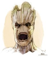 He is Groot by D-MAC