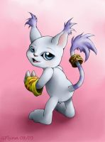 Gatomon by snoot