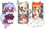 [11-13] CHEAP Earshark Adopts (CLOSED) by SugarBooty