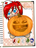 MR: Anne's pumpkin by Ch4rm3d