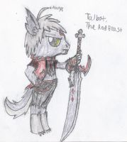 MLP: Cutie Mark Crusade-Fenrir Talbot by Swordmaster200