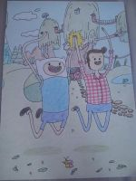 Adventure Time by ShamhainS