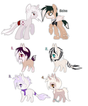 Saine and Love Poison foals {closed} by Ivon-Cheetah