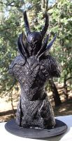 Dark Souls Black Knight large bust special edition by futantshadow